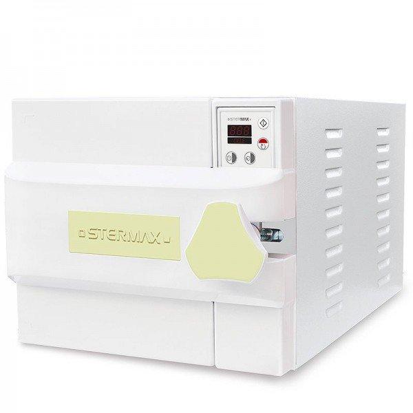 autoclave horizontal digital automatica box extra cap 21 litros amarela 110 volts