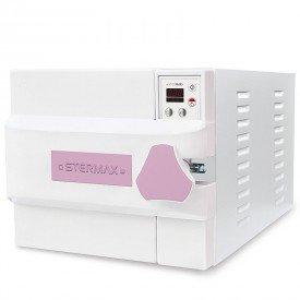 autoclave horizontal digital automatica box extra cap 21 litros rosa 110 volts