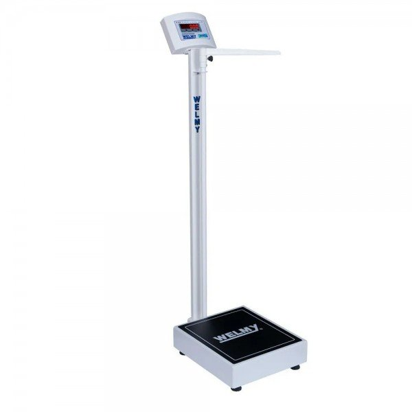 10441 balanca eletronica adulto com antropometro cap 200 kg welmy