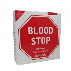 11148 curativo redondo p retirada de sangue cx c 500 und blood stop adulto