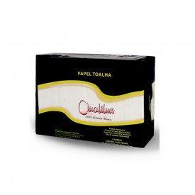 12304 papel toalha 100 celulose 2 dobras 20 x 21 cm pct c 1000 folhas qualilux