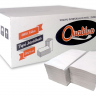 12303 papel toalha 100 celulose 2 dobras 20 x 21 cm cx c 4800 folhas qualilux