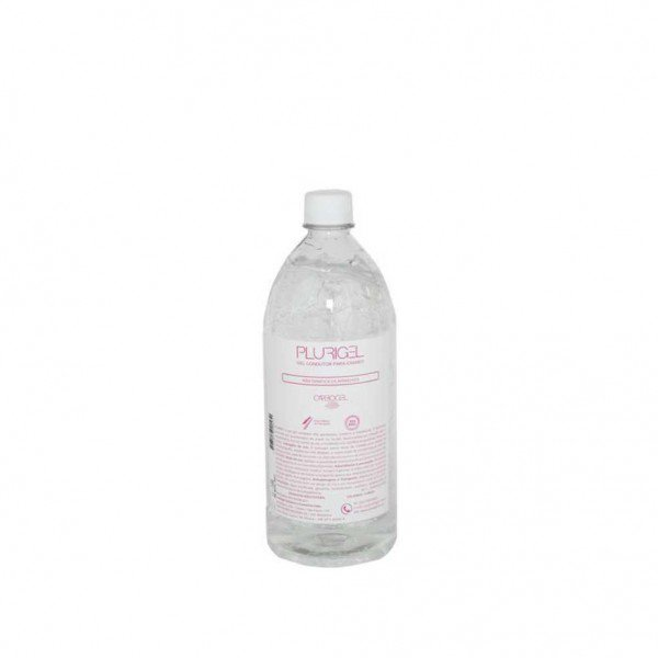 11864 gel de contato p ecgultrassom carbogel plurigel 1000 gr garrafa