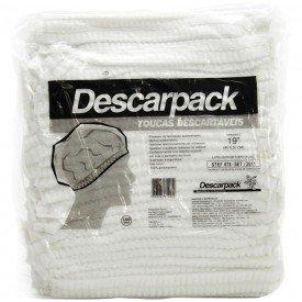 13157 touca sanfonada branca pct c 100 und descarpack