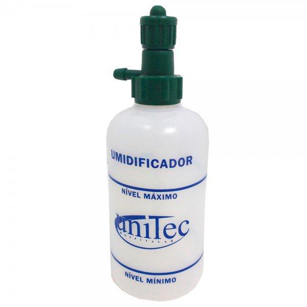 13190 umidificador p oxigenio frasco pvc 250 ml rosca plastica unitec