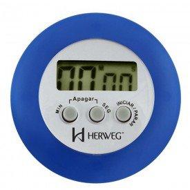 12148 marcador de minutos digital azul herweg