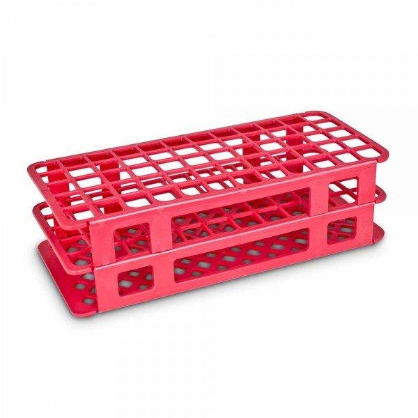 11512 estante tipo grade p 40 tubos vermelha labor import