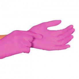 12115 12116 12117 luva procedimento nitrilica sem talco cx c 50 pares nugard m rosa