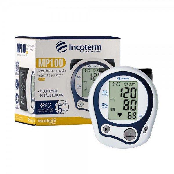 12182 medidor de pressao arterial e pulsacao digital automatico punho incoterm