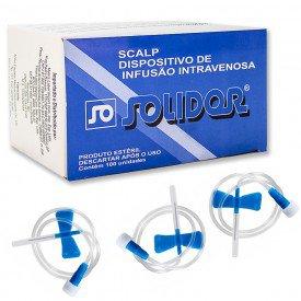 11416 escalpe cx c 100 und lamedid solidor n 23 azul