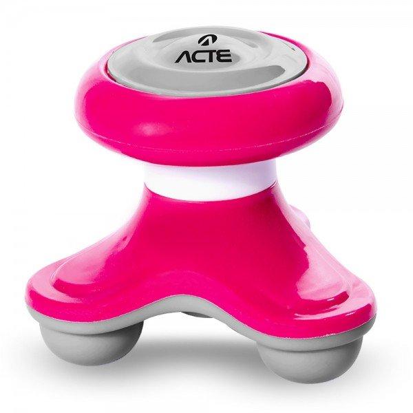 14299 mini massageador corporal 2 5 w acte rosa