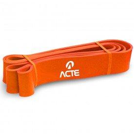 14276 extensor elastico super band acte leve laranja