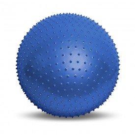 14296 bola de massagem e relaxamento 65 cm acte massage ball azul