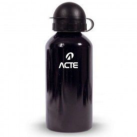 14349 garrafa squeeze em aluminio capacidade 500 ml acte preto