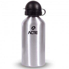 14350 garrafa squeeze em aluminio capacidade 500 ml acte prata