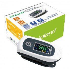 12281 oximetro de pulso portatil de dedo visor no sensor adulto bioland