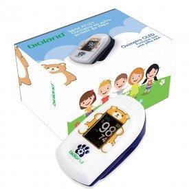 14594 oximetro de pulso portatil de dedo visor no sensor infantil bioland