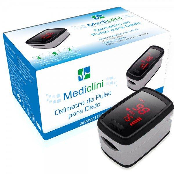 14595 oximetro de pulso portatil de dedo visor no sensor mediclini