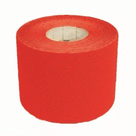 14730 bandagem elastica adesiva 5 cm x 5 metros kinesio multilaser vermelho