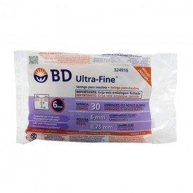 12692 seringa insulina 0 3 ml c agulha pct c 10 und bd ultra fine 25 x 0 60 mm