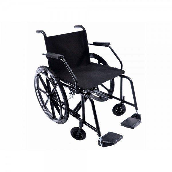 10657 cadeira de rodas confort liberty obeso cap 130 kg pneu inflavel prolife