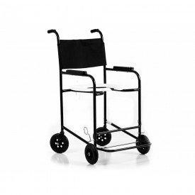 10659 cadeira p banho adulto cap 100 kg pneu macico prolife