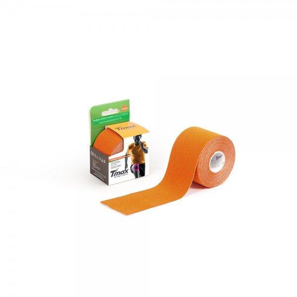 10474 bandagem elastica adesiva 5 cm x 5 metros tmax bioland laranja