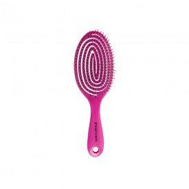 14871 escova para cabelos c cerdas ultra flexiveis marco boni rosa