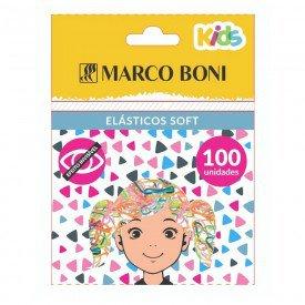 14864 elastico colorido p cabelos pct c 100 und marco boni