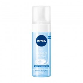 14879 mousse de limpeza facial 150 ml nivea