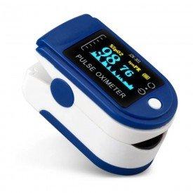 14905 oximetro de pulso portatil adulto c curvas e visor no sensor supermedy