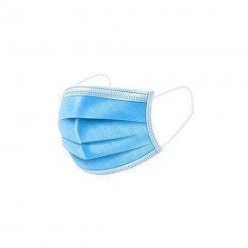 14983 mascara tripla com elastico cx c 50 und alphmed azul