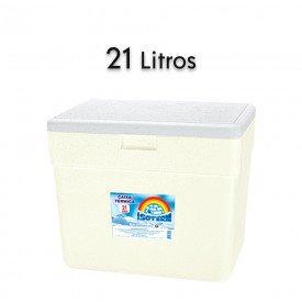 14761 caixa termica em e p s com alca isoterm 21 litros