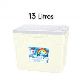 14758 caixa termica em e p s com alca isoterm 13 litros