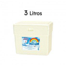 14755 caixa termica em e p s sem alca isoterm 3 litros