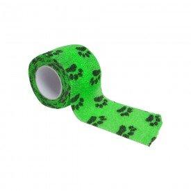 15091 atadura elastica estampada 5 cm x 4 5 metros tkl la vet verde
