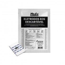 15044 eletrodo descartavel para ecg adulto pct c 50 und medix