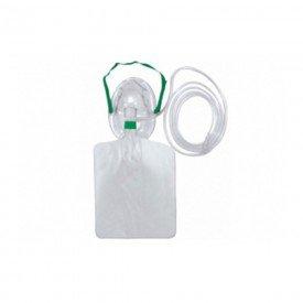 14522 mascara com reservatorio de oxigenio alta concentracao unitec infantil