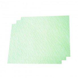 14773 papel crepado verde 30 x 30 polar fix