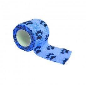 15187 atadura elastica estampada 5 cm x 4 5 metros tkl la vet azul